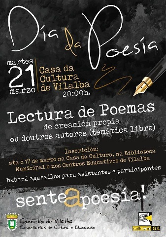 21 de marzo, Día da Poesía