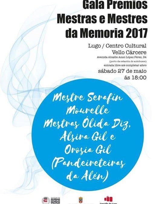 GALA PREMIOS MESTRAS E MESTRES DA MEMORIA 2017