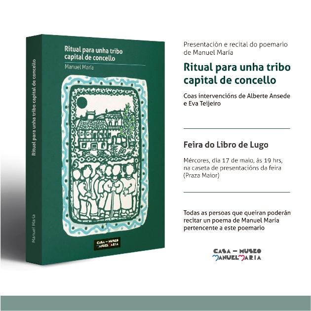 RITUAL PARA UNHA TRIBO CAPITAL DE CONCELLO na Feira do Libro de Lugo