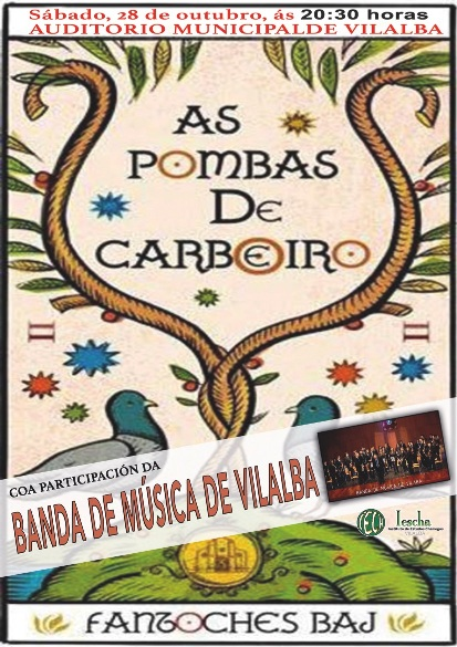 AS POMBAS DO CARBOEIRO, Fantoches Baj no Auditorio Municipal de Vilalba