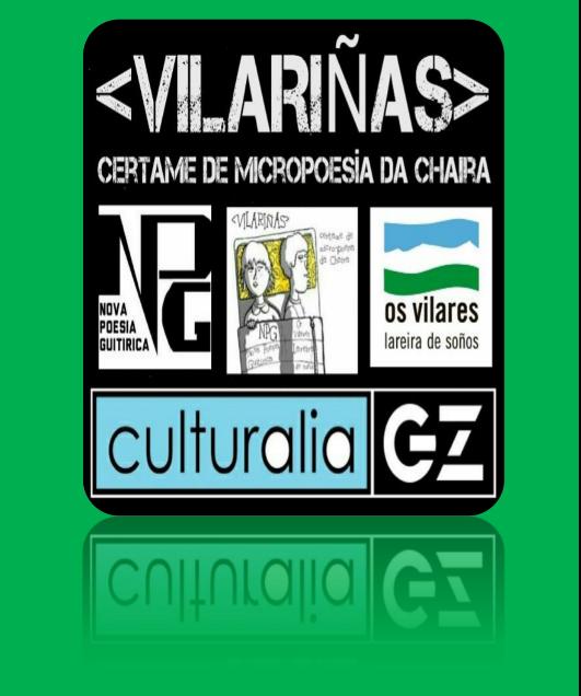 OS HAIKUS, EN GALIZA, TEÑEN NOME DE MULLER E CHAMANSE VILARIÑAS por Antón de Guizán