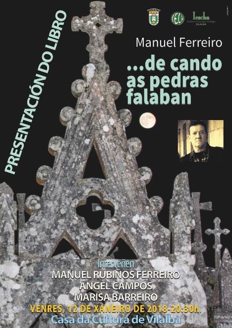 """IESCHA: Presentación do libro de Manuel Ferreiro """"…de cando as pedras falaban"""""""