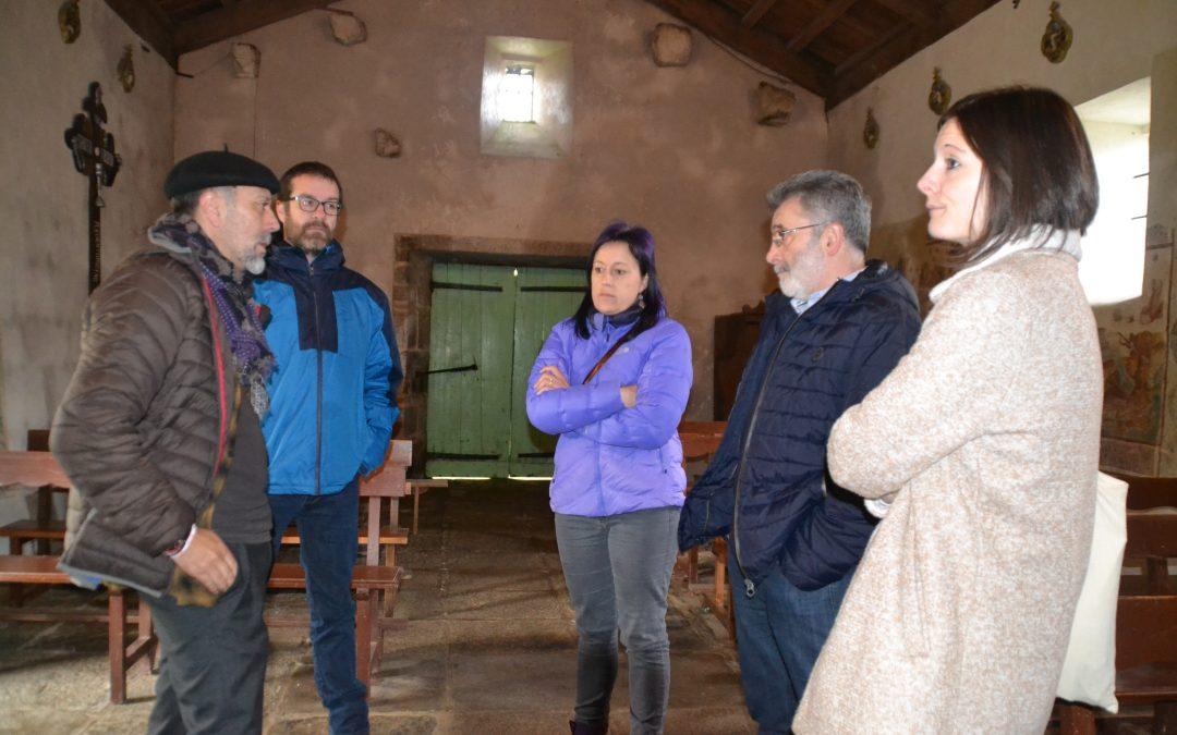 APROBADA A RESTAURACIÓN DOS FRESCOS DE GUITIRIZ, por Antón de Guizán