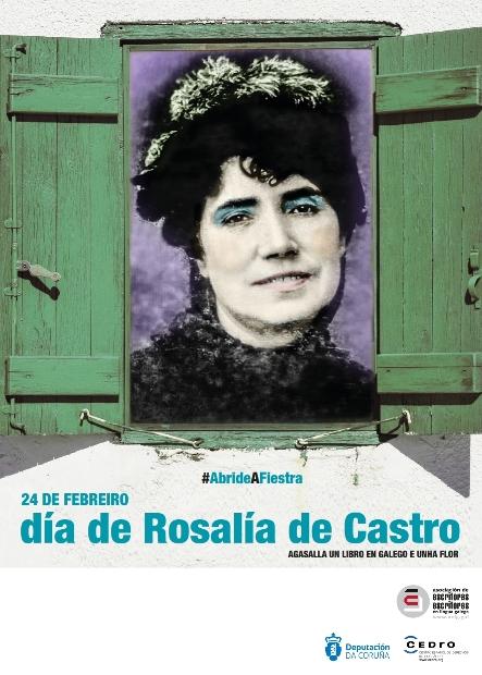 #AbrideAFiestra: Actividades da AELG para o Día de Rosalía de Castro 2018