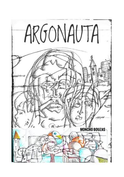 Edición dixital do poemário ARGONAUTA en Culturalia GZ por Antón de Guizán