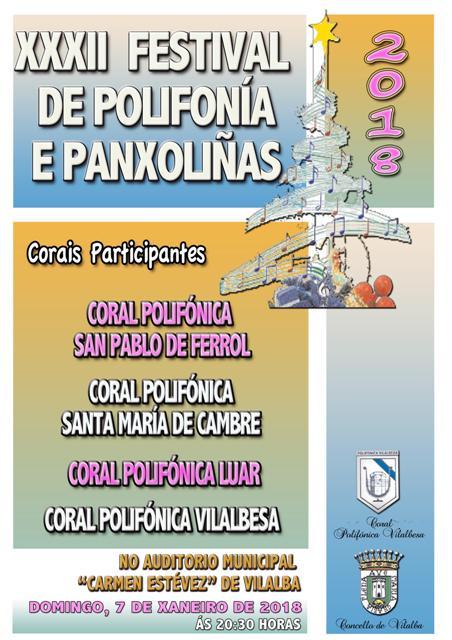 XXXII Festival de Polifonía e Panxoliñas en Vilalba