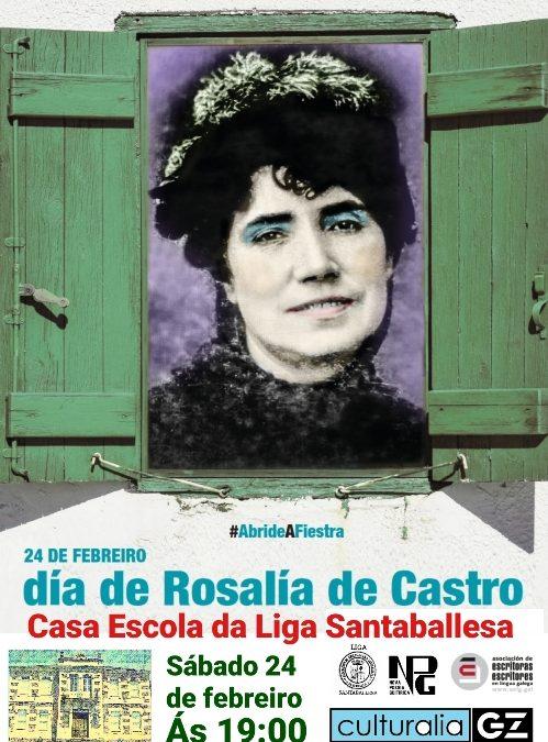 Día de Rosalía na parróquia chairega de Santaballa, por Antón de Guizán