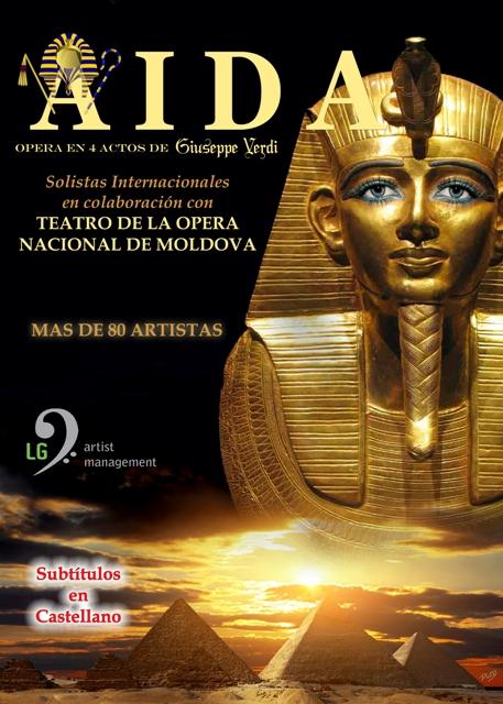 Ópera AIDA no Auditorio Municipal de Vilalba