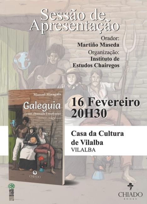 """ACTO DO IESCHA. PRESENTACIÓN DE """"GALEGUIA"""" DE MANUEL MIRAGAIA"""
