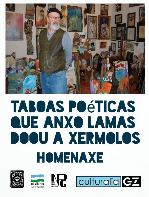 TÁBOAS POÉTICAS QUE ANXO LAMAS DOOU A XERMOLOS, por Antón de Guizán