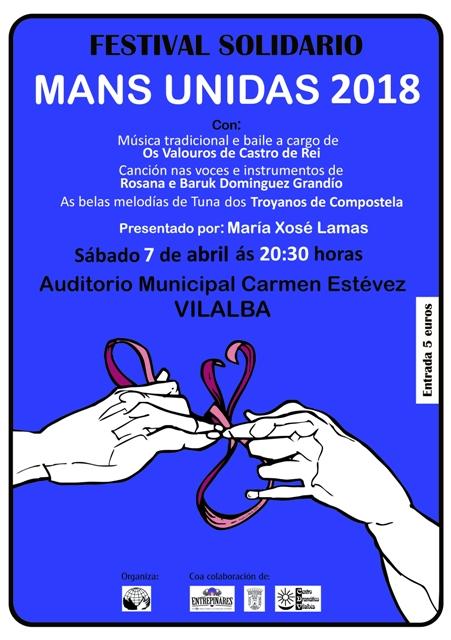 Festival Solidario de Mans Unidas 2018