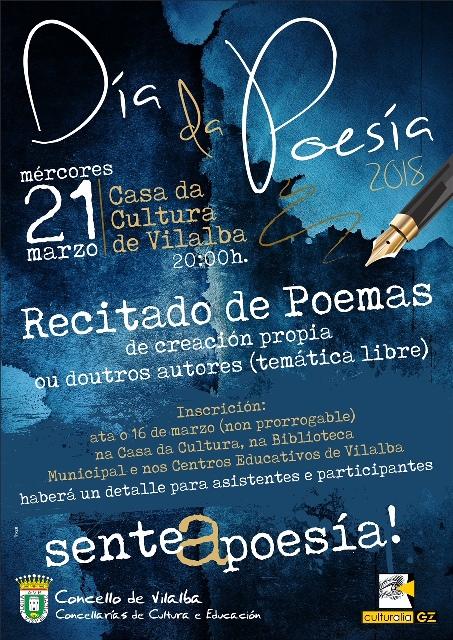 Día da Poesía na Casa da Cultura de Vilalba