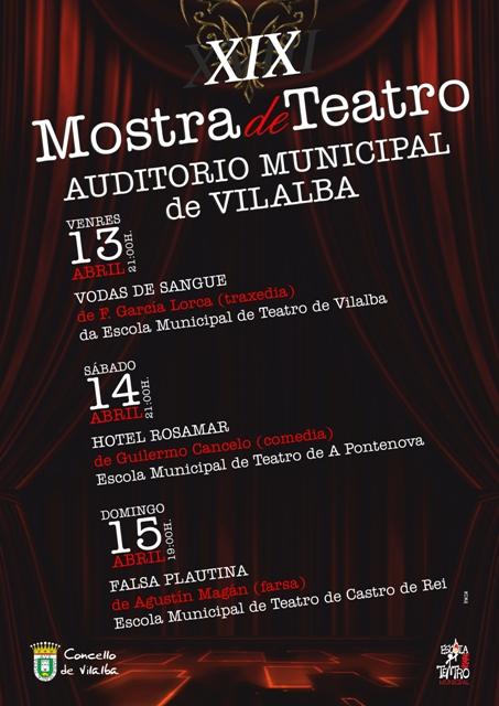 XIX Edición da Mostra de Teatro de Vilalba