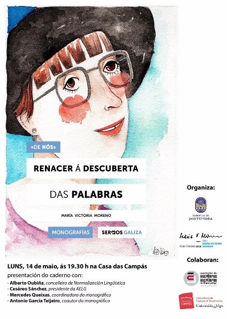 Monografía Sermos Galiza: María Victoria Moreno. Renacer á descuberta das palabras