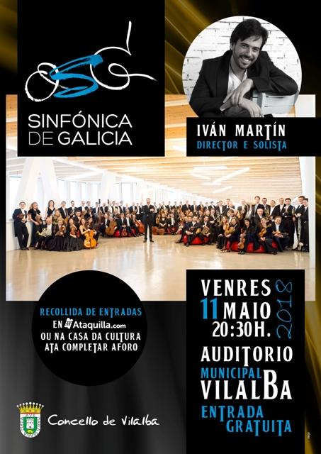 ORQUESTA SINFÓNICA DE GALICIA no Auditorio Municipal de Vilalba