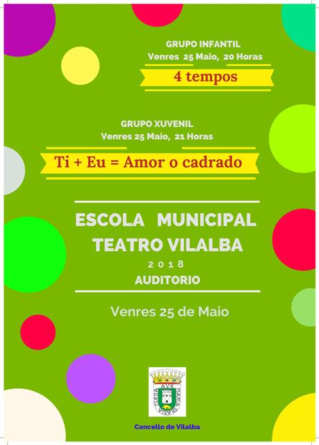 Teatro infantil e xuvenil no Auditorio Municipal de Vilalba