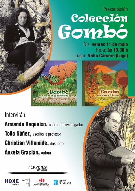 Presentación de Colección GOMBÓ, de Ánxela Gracián, en Lugo