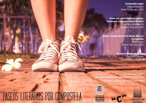 Paseos Literarios por Compostela. Primavera 2018