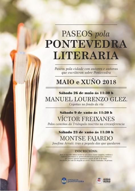 Paseos pola Pontevedra literaria. Primavera 2018