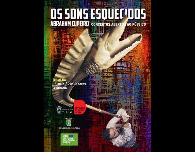 Concerto OS SONS ESQUECIDOS de Abraham Cupeiro en Vilalba