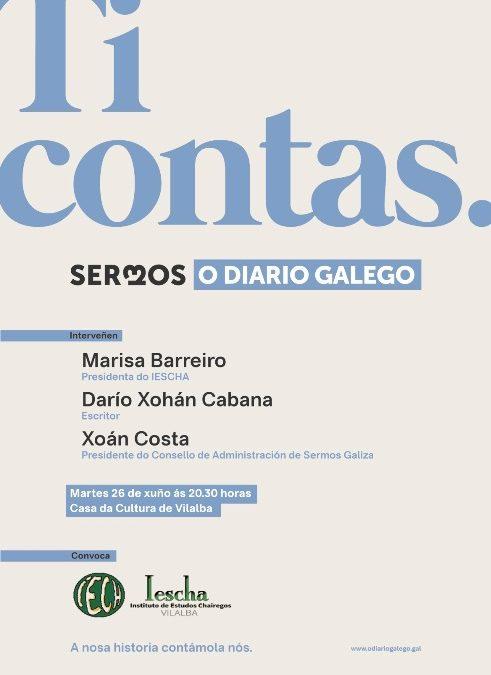 Acto do IESCHA: Presentación en Vilalba do xornal O Diario Galego