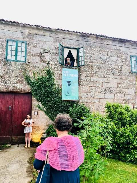 Crónica Gráfica do Proxecto Expositivo NON MUNDO – VI FOLIADA DAS ARTES no Pazo de Sabadelle