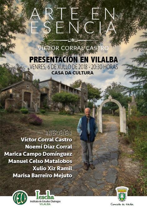 Acto do IESCHA: Presentación do libro ARTE EN ESENCIA, de Víctor Corral