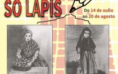 """Acto do IESCHA. Exposición de debuxo """"SÓ LAPIS"""", de Xesús Trastoy"""