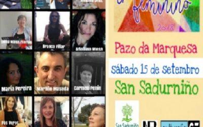Poesía en feminino en San Sadurniño e encontro cultural en Caldaloba, por Antón de Guizán