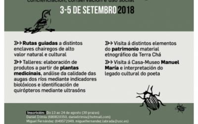 Biodiversidade e patrimonio na Terra Chá: concienciación, conservación e uso social