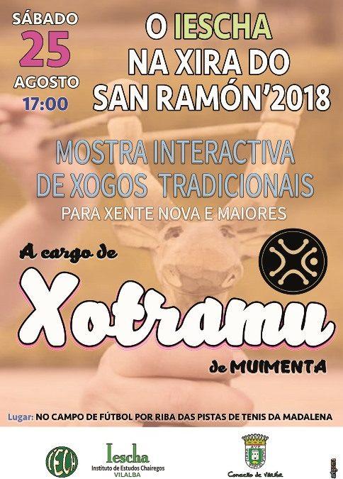 MOSTRA INTERACTIVA DE XOGOS TRADICIONAIS, a cargo de XOTRAMU, de Muimenta