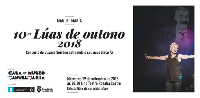 X EDICIÓN DE LÚAS DE OUTONO. MANUEL MARÍA