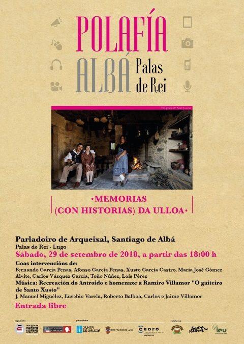 Acto da AELG: Polafía en Albá (Palas de Rei)
