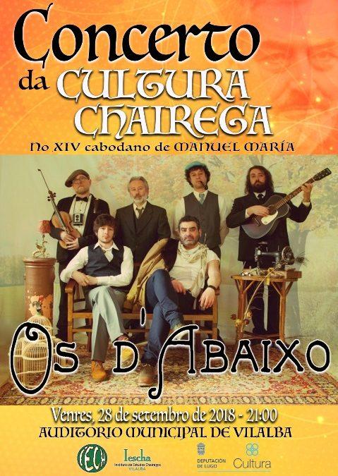 Acto do IESCHA.- Concerto da Cultura Chairega: Os D'Abaixo
