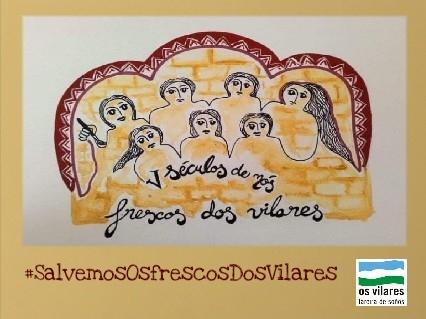 Lareira de Soños lamenta a hipocrisia da Deputación Provincial e o pasotismo do Concello de Guitiriz cos frescos dos Vilares, por Antón de Guizán