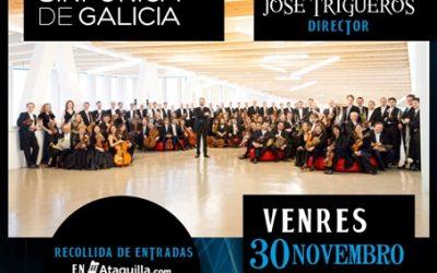 Concerto da Orquestra Sinfónica de Galicia no Auditorio Municipal de Vilalba