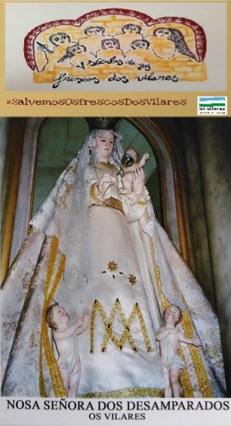 ORACIÓN A SAN VICENZO E Á VIRXE DOS DESAMPARADOS, por Antón de Guizán